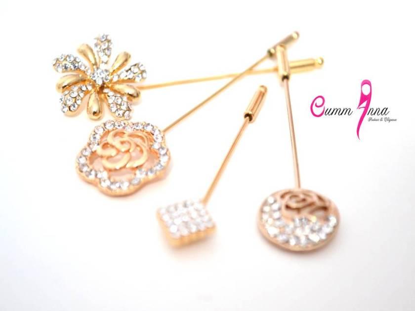 """Collection de Hijab Pins """"Prestige"""""""