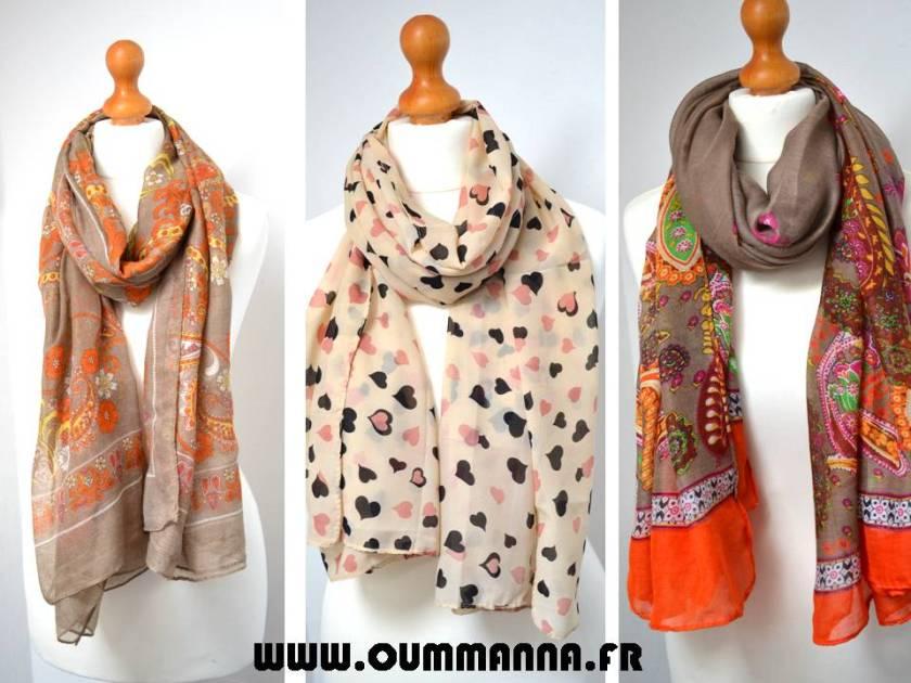 Collection de Foulards par OummAnna.fr