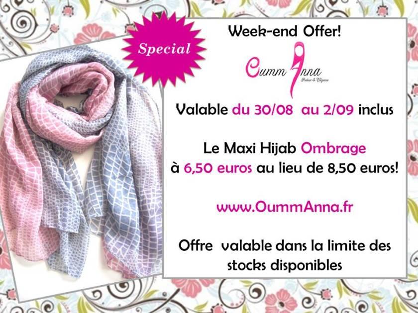 OummAnna Maxi Hijab Ombrage