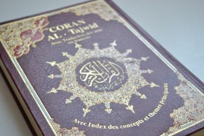 Quran avec régles de Tajweed