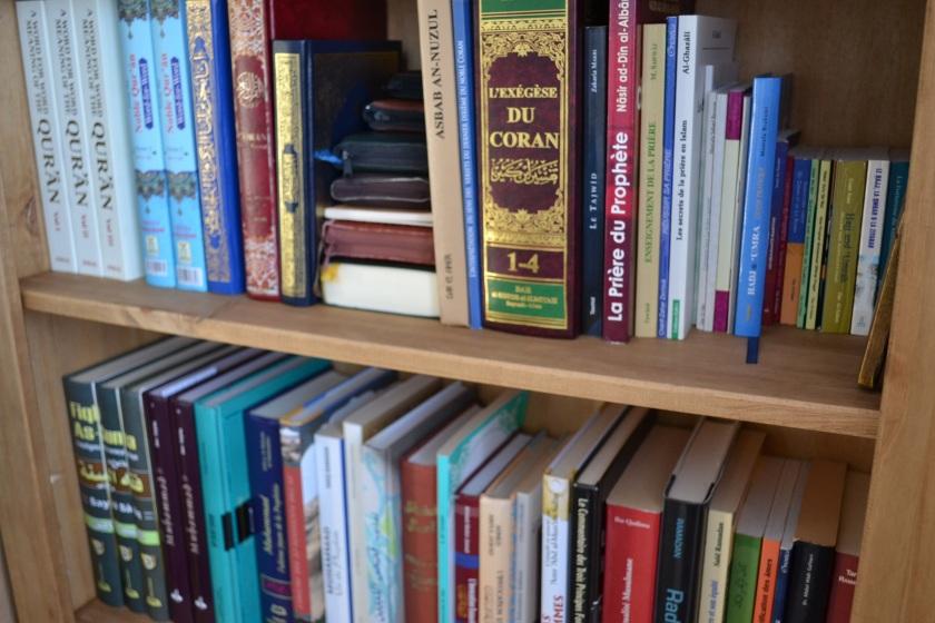 Bibliothèque à la maison