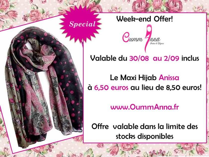 OummAnna Maxi Hijab Anissa