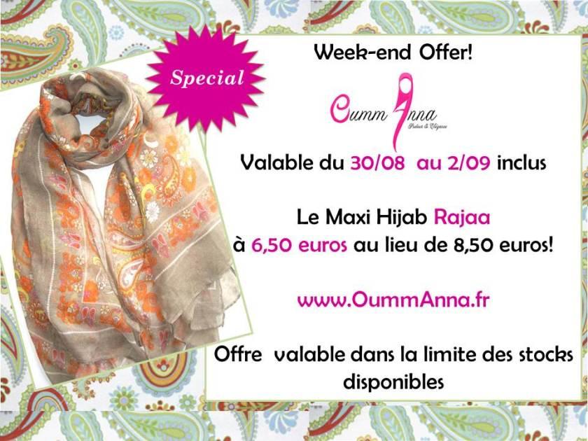 OummAnna Maxi Hijab Rajaa