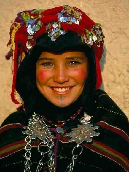 Portrait d'une Jeune Femme Berbère