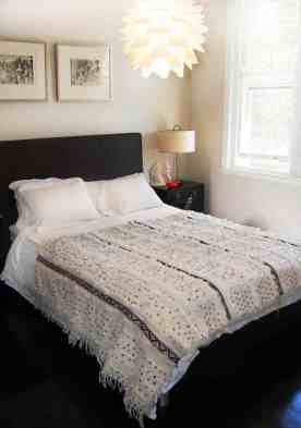 En couvre lit