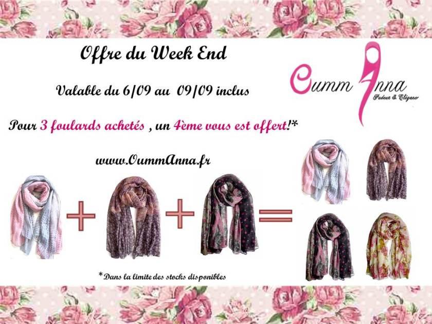 offre week end OummAnna