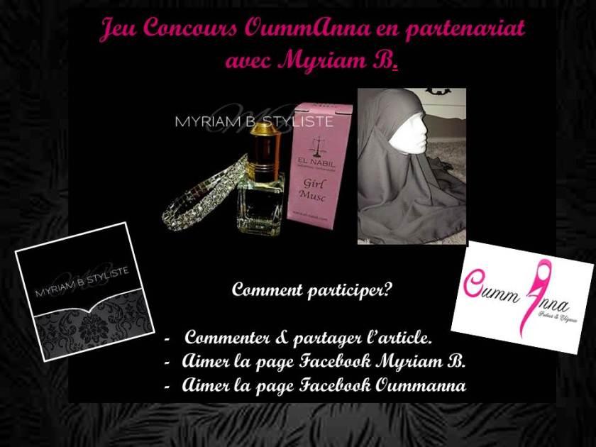 participation Myriam B concours