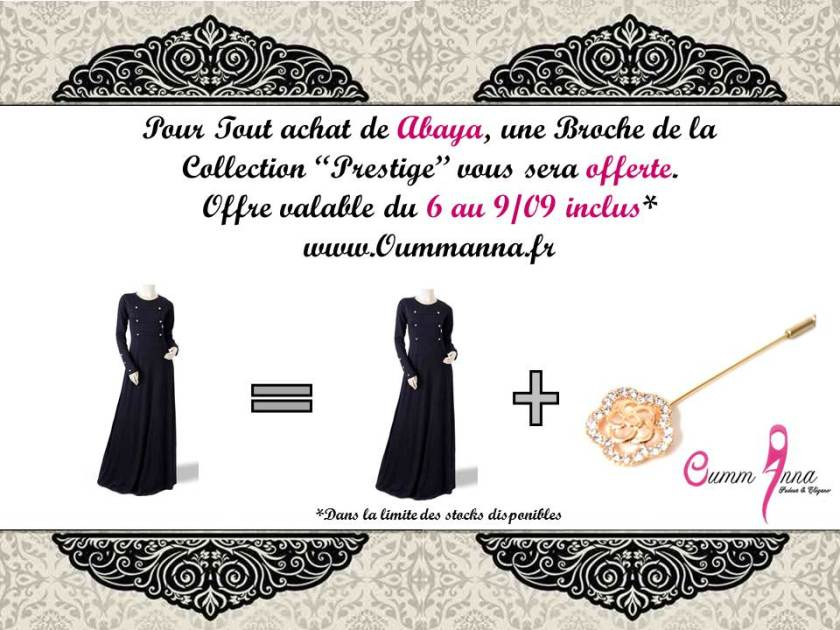 Offre Promotionnelle OummAnna.fr