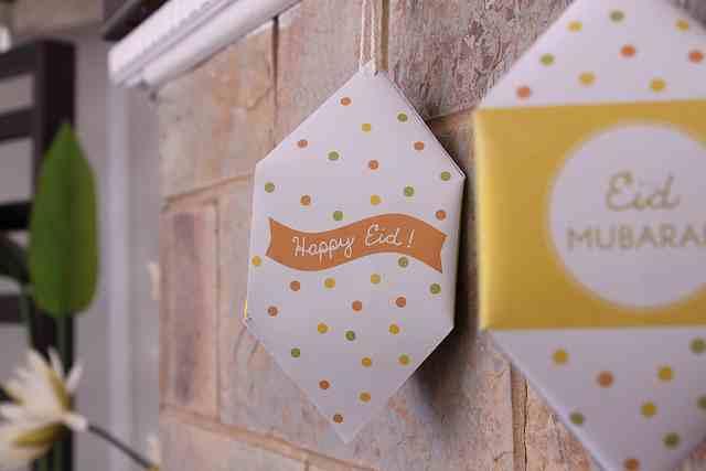 Mini Lanterns Happy Eid
