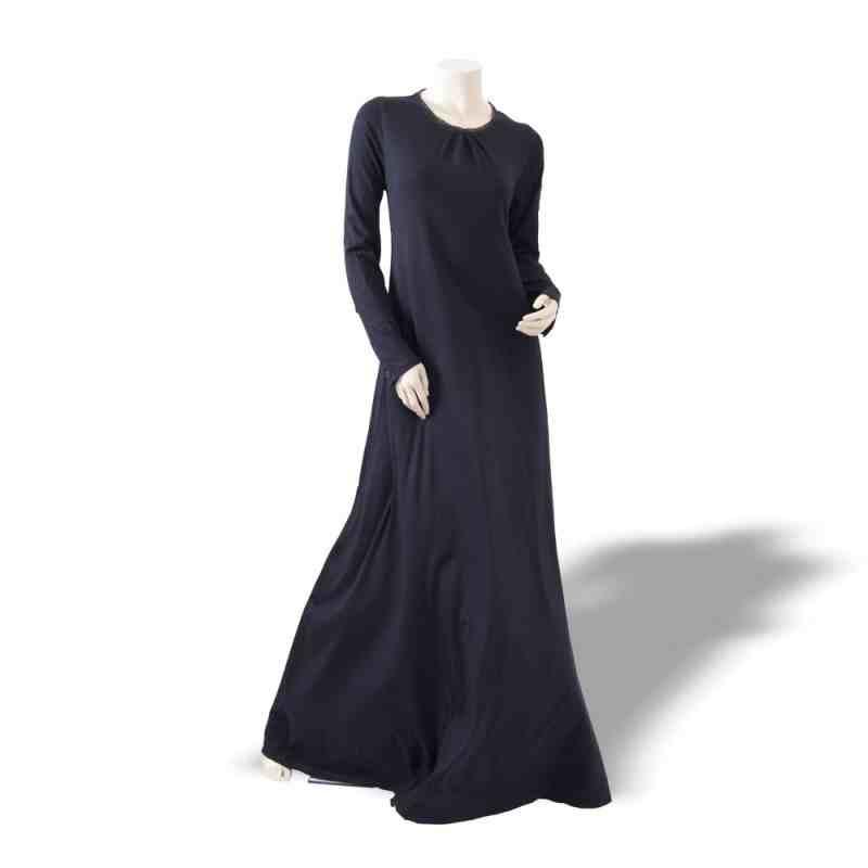 Black Classy Abaya by OummAnna
