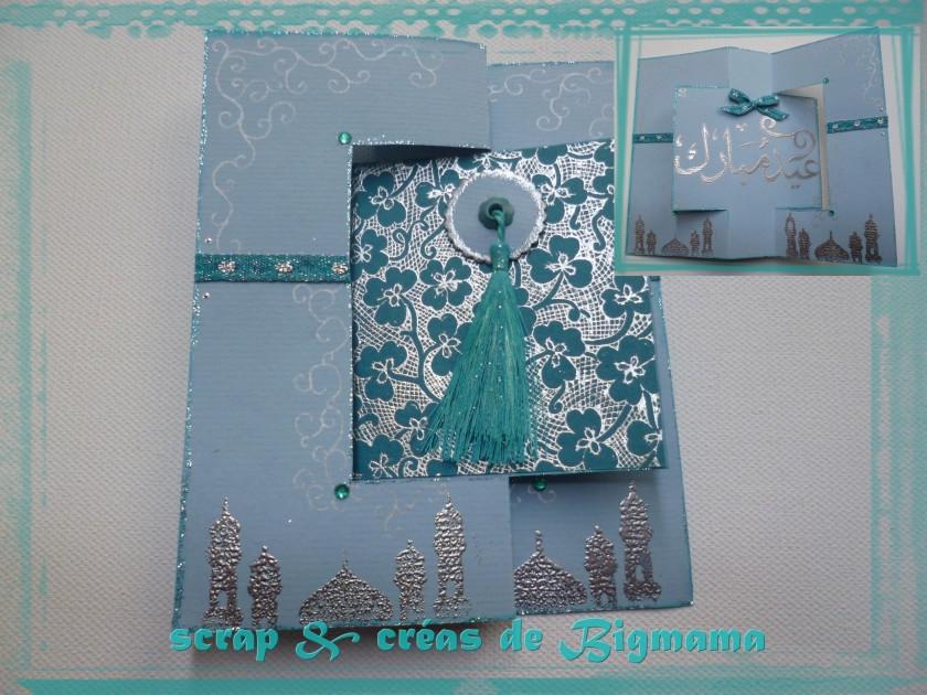 Carte Flip Flop by Scrap & Créas de Bigmama