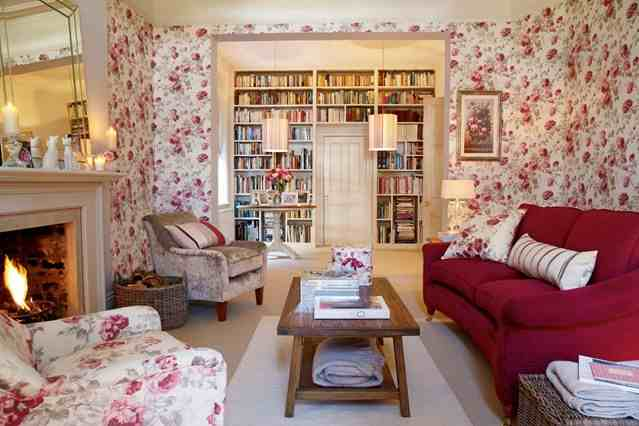 Un Salon so British! par Laura Ashley