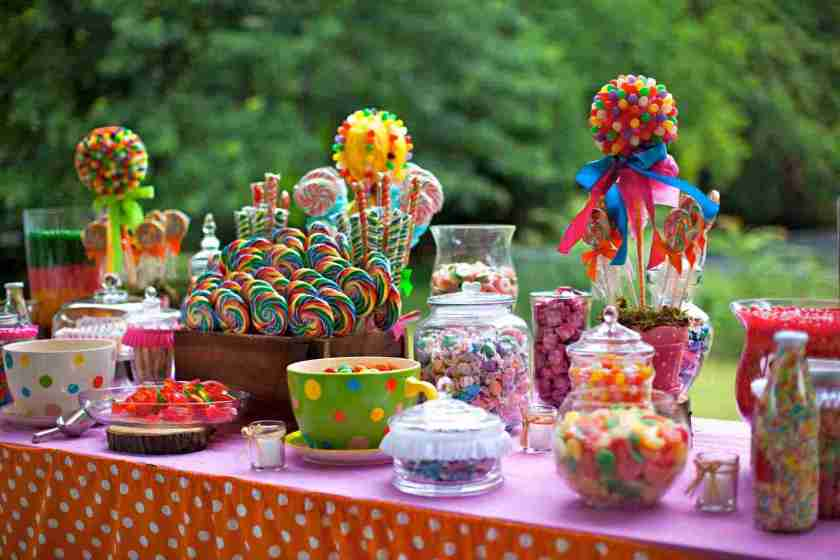 Rainbow Sweet Table