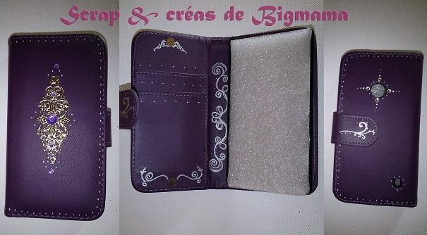 Personnalisation Pochette by Scrap & Créas de Bigmama