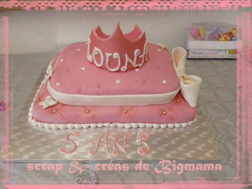 Gateau Princess by Scrap & Créas de Bigmama
