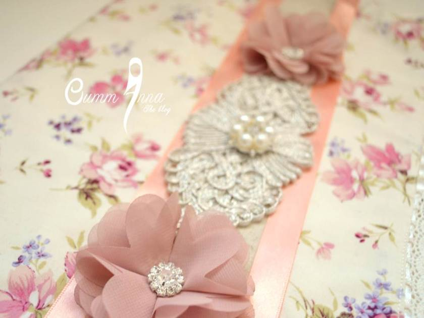Details de la Pochette {Girly Chic} by OummAnna