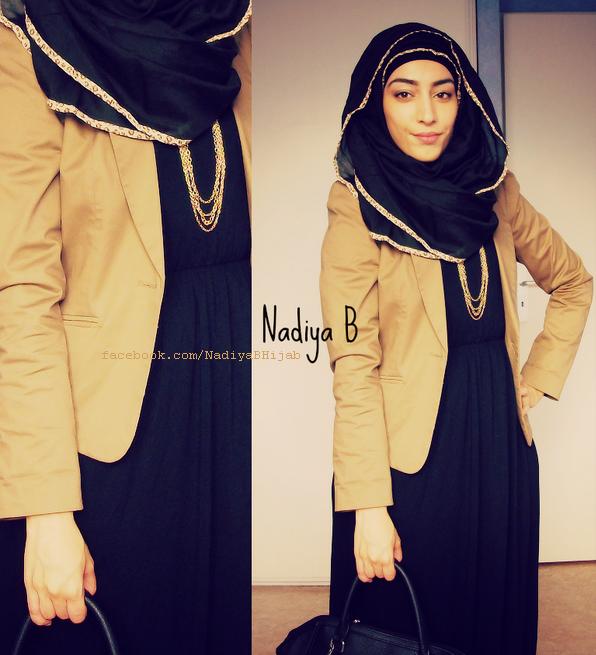 Nadiya B. with OummAnna Maxi Hijab