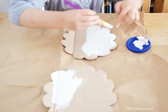 DIY Moutons en carton