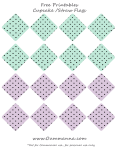 lilacpurpleinchflags