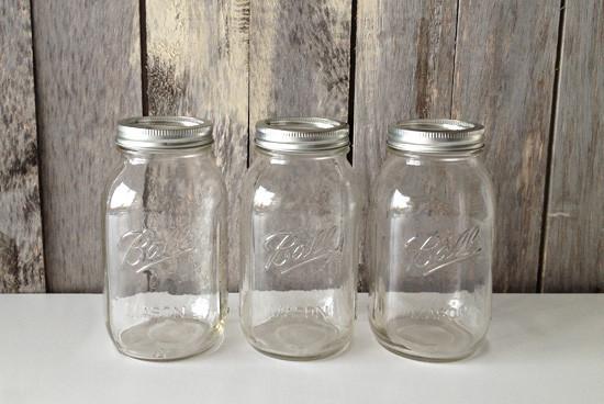 De simples Mason Jars