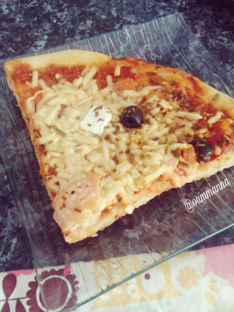 Homemade pizza recipe by Oummanna