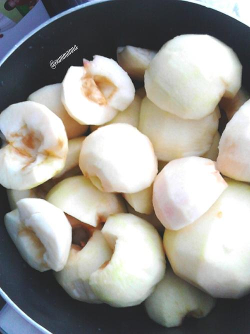 Apple pie toute aux pommes by Oummanna
