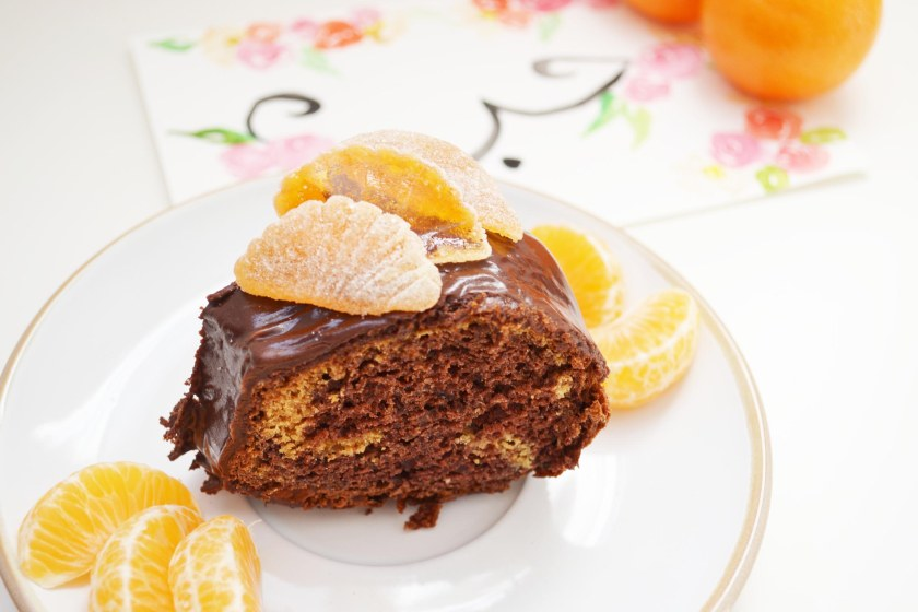 Egg free Chocolate and orange cake