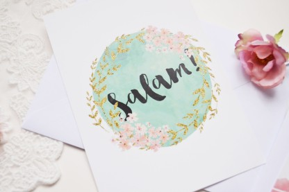 Islamic Greeting Cards By Oummanna Limited edition