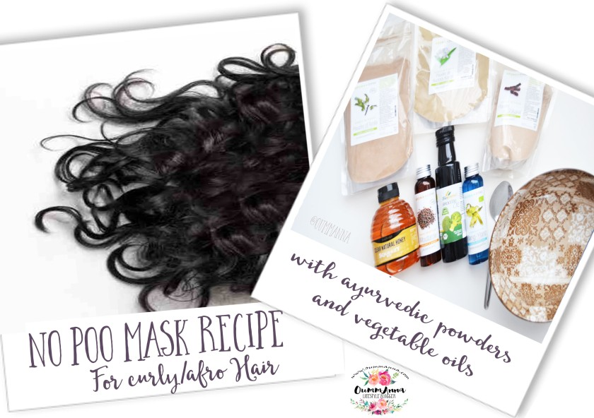 no poo mask recipe for curly hair