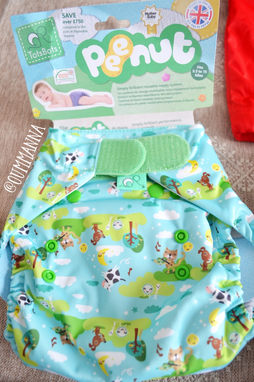 peenut Totsbots Nappy Mystery Bundle by Plushpants