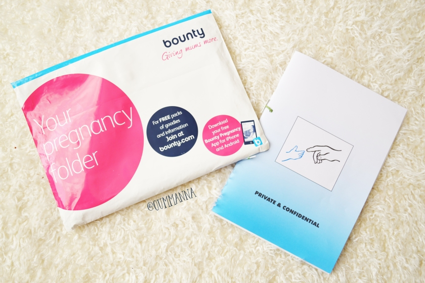 Bounty Pregnancy Folder pack and NHS Pregnancy note