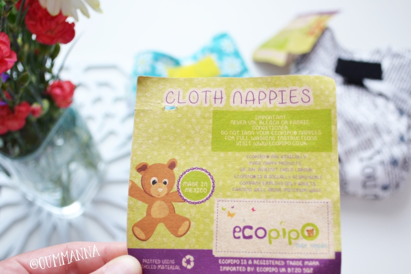 Ecopipo v2 pocket nappy review