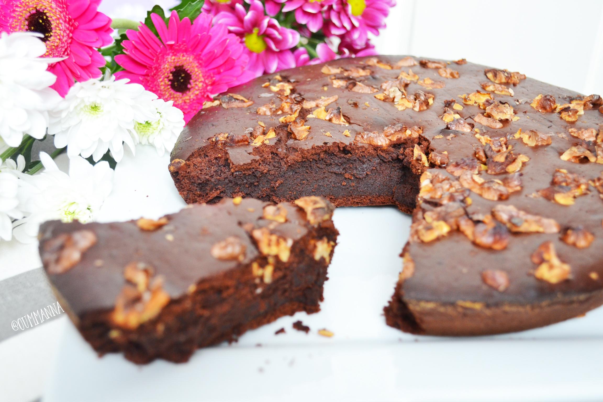 New Vegetarian treat Eggless Chocolate Fondant Cake recipe