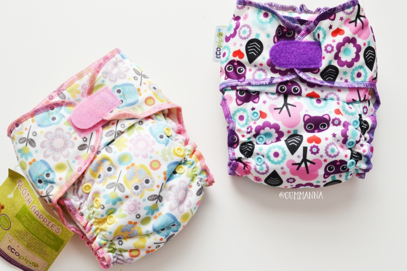 Ecopipo All in One Cloth diaper review