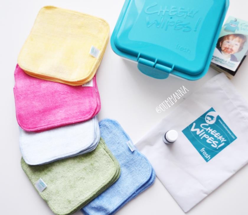 cheeky wipes mini kit