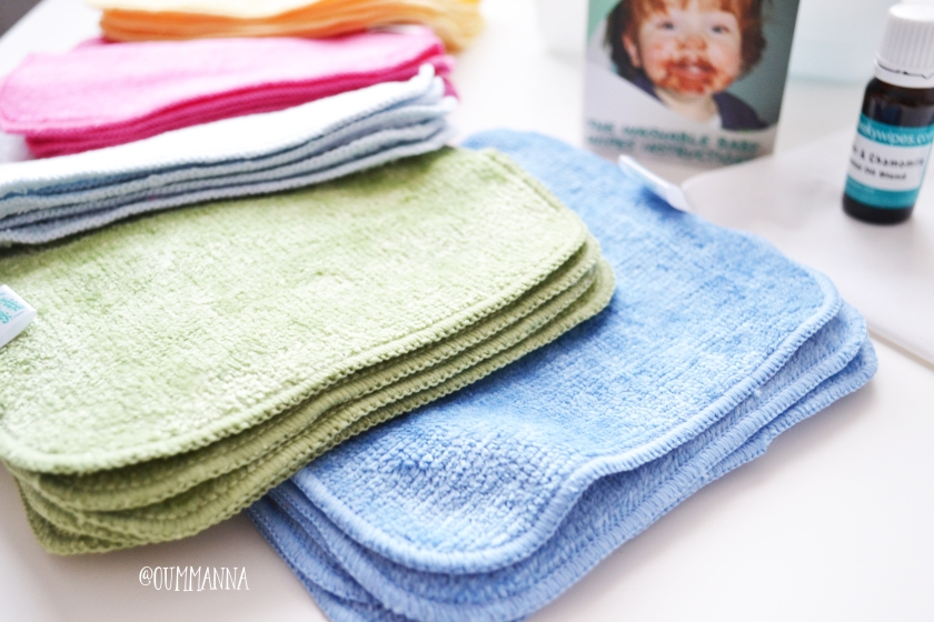 CHEEKY WIPES BAMBOO VELOURS WIPES SET