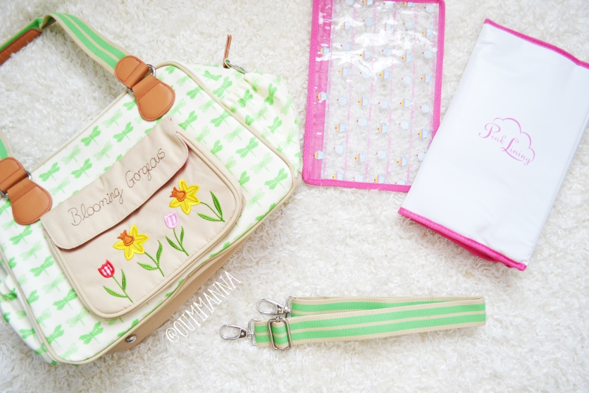 Pink Lining Blooming Gorgeous Changing Bag Review