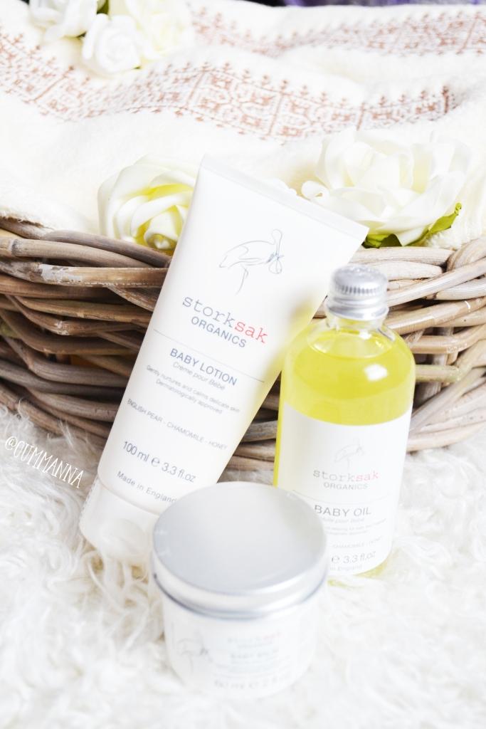 Storksak organics baby spa gift set review