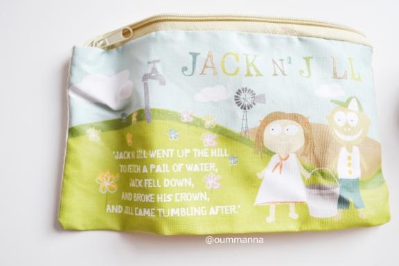 Jack N' Jill Sleepover Bag