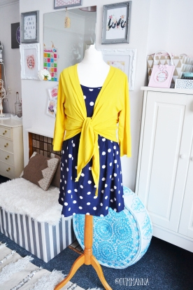 Frugi top and cardi