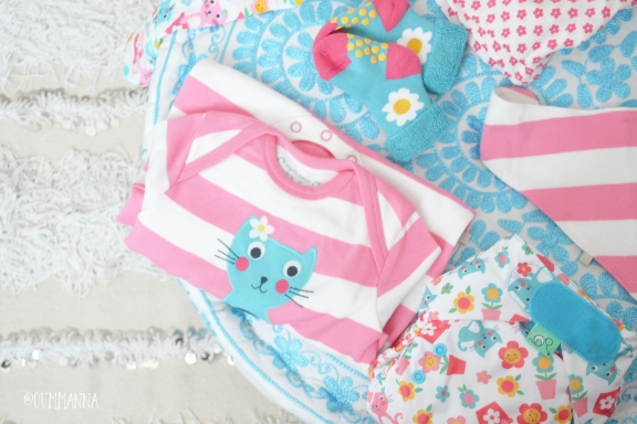 Frugi Cat friends Newborn set