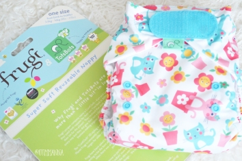 Frugi Cloth nappy