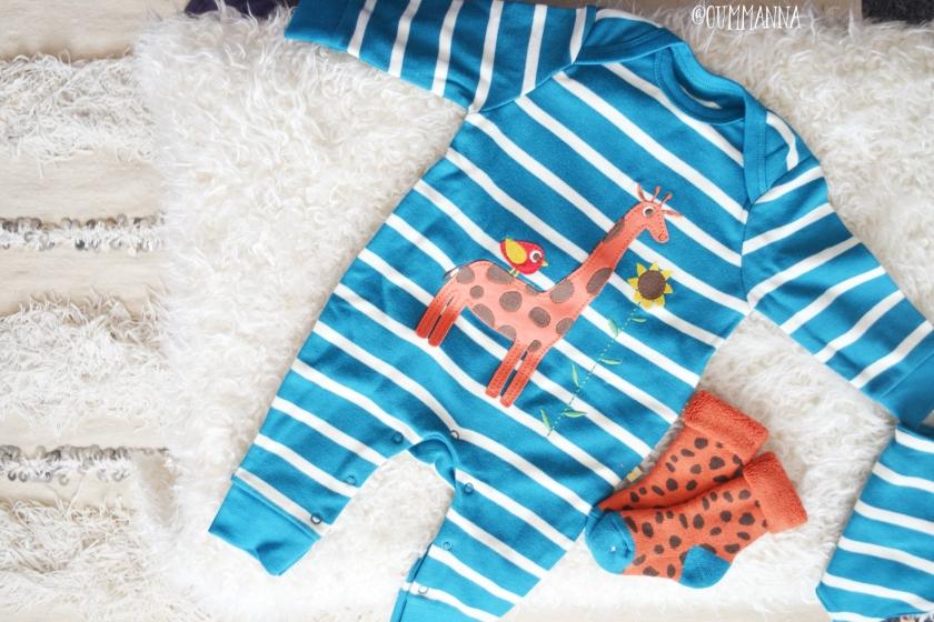 Frugi Giraffe Newborn set