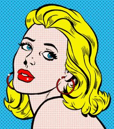 pop art woman
