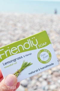 Friendly soap lemongrass and hemp soap bar
