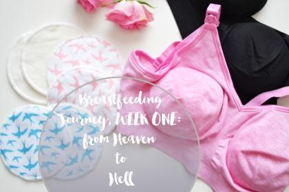 breastfeeding week one