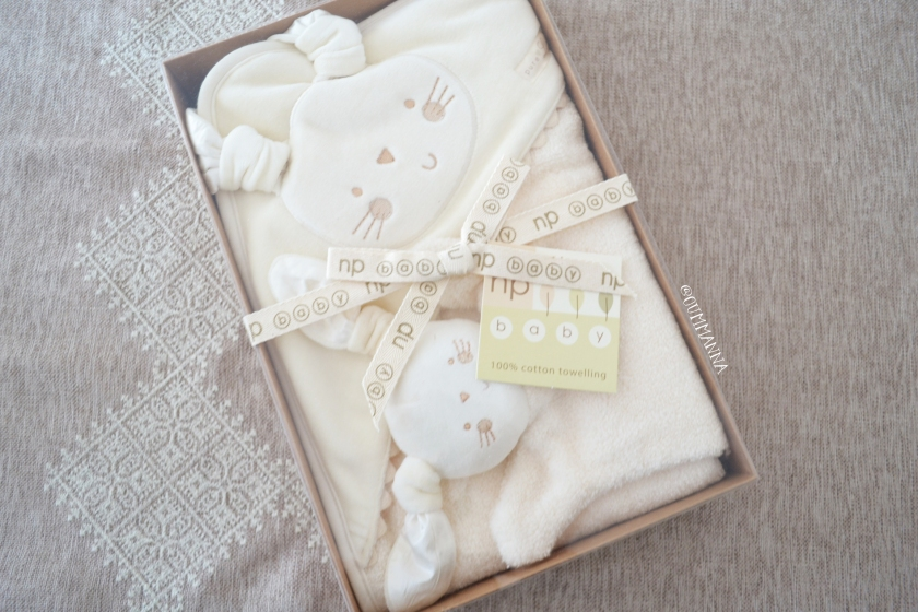 Natures purest Pure love Baby Hooded Towel