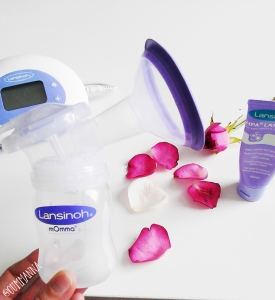 The 2 in 1 Double electric Lansinoh Breast Pump