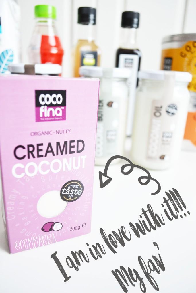Cocofina creamed coconut