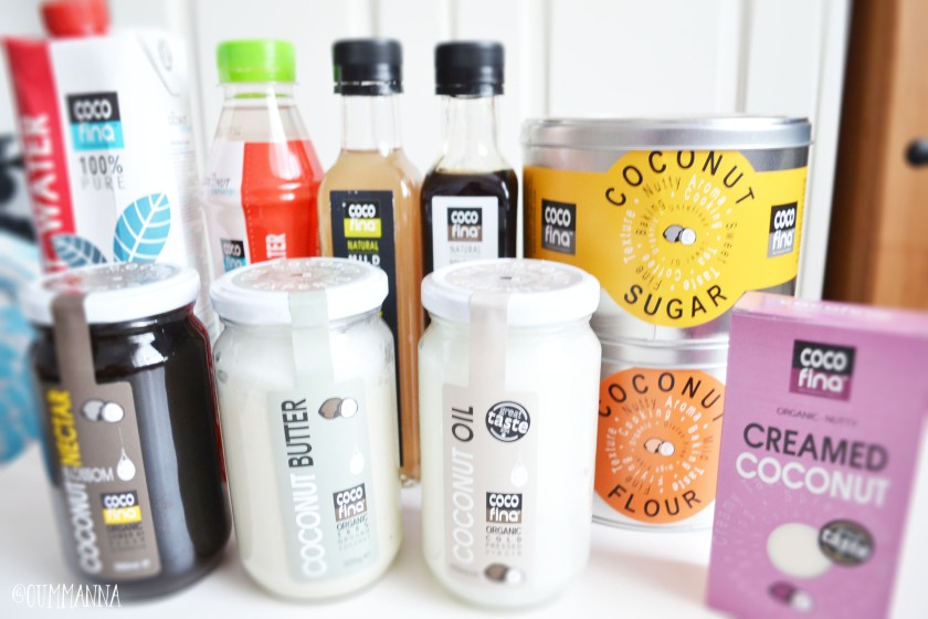 Cocofina, the Coconut Experts Products range